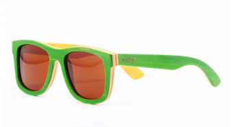 Wood Sunglasses Sk6803 green
