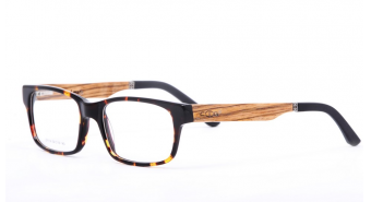 Wood Frame Glasses ZF114