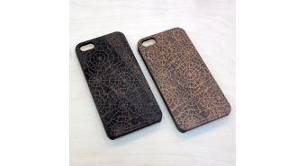 Wood iPhone Case COOB x VedeninaDesign№2