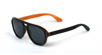 Multilayer Wood Sunglasses S6058 - maple