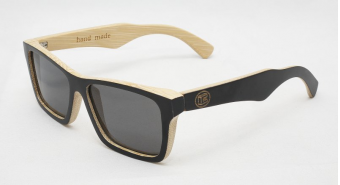 Bamboo Sunglasses B6003 bamboo black&nature