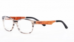 Wood Frame Glasses ZF113
