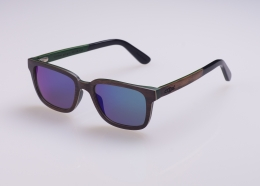 Multilayer Wood Sunglasses S6020 walnut