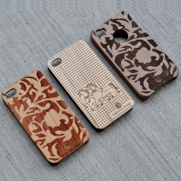 Wood iPhone Case COOB x VedeninaDesign TROIKA