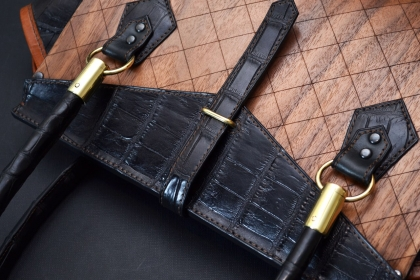 Wood and leather accessories COOB&Nautilus